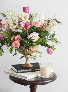 Floral Vignette
