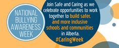 national bullying awareness week! #caringweek