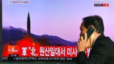 nice Corea del Norte lanza un nuevo misil de prueba en la víspera de la cumbre entre los presidentes de EE.UU., Donald ...