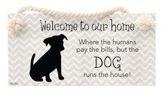 Hanging Sign - DOG
