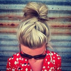 Always Dolled Up: 20 Buns for Bad Hair Days