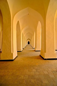 Uzbekistan, Bukhara, Kalon Mosque by MY2200, via Flickr