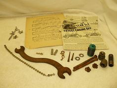 STEAMPUNK COLLAGE & ALTERED ART ITEMS!    25 RUSTY, DUSTY, AND USED ITEMS!    VARIOUS SIZES!    VARIOUS CONDITIONS!