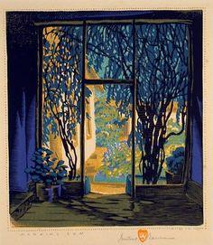 Gustave Baumann - Morning Sun.