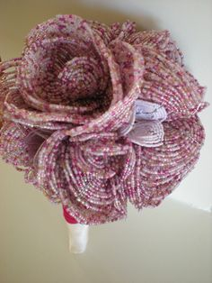 French Beaded Bridal Bouquet