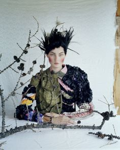 KIRSI PYRHONEN, Outer Mongolia, British Vogue by Tim Walker Photography