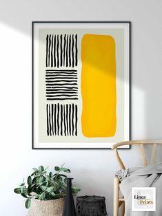 Diy Canvas Art, Diy Wall Art, Wall Art Decor, Cheap Wall Art, Large Abstract Wall Art, Abstract Line Art, Modern Minimalist Living Room, Minimalist Art, Cuadros Diy