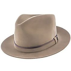115b471359a Lowest Price on Belfast - Stetson Fur Felt Fedora Hat - TWBLFS. http