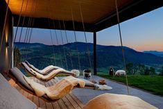 Die drei schönsten Wellnesshotels in den Bergen Europas Design Hotel, Bergen, Spring Break, Places Around The World, Around The Worlds, Wonderful Places, Beautiful Places, Paradise Pools, Das Hotel