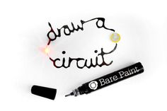 Electrically Conductive Paint http://www.bareconductive.com/