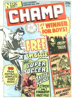 Champ Issue Number 1, 1984