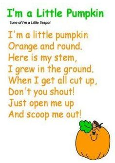 Preschool Music, Fall Preschool, Halloween Songs Preschool, Halloween Songs For Preschoolers, Pumpkin Preschool Crafts, Halloween Nursery Rhymes, October Preschool Themes, October Crafts, Halloween Activities