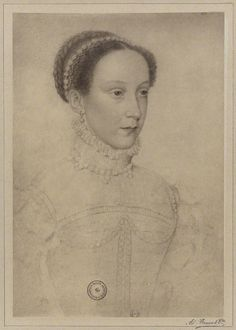Mary, Queen of Scots after Clouet.