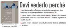 HEDDA GABLER di Ibsen, dal 14 al 17 febbraio 2013 al Teatro Nuovo di #Udine!