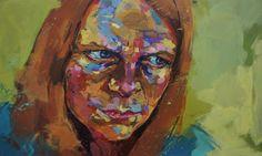 Expression | Rebecca Molloy | Affordable Art. Contemporary Art. Redheads. DegreeArt.com £380.00