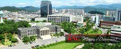 Học bổng Đại học quốc gia Kyungpook Hàn Quốc