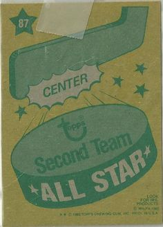 Topps Second Team All Star