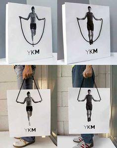 YKM Creative Shopping Bag