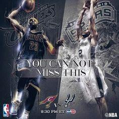 Spurs vs Cavaliers. Kawhi Leonard. Go Spurs Go