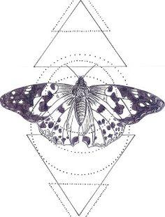 Geometric Butterfly.