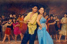 Koi Ladki Hai, from Dil To Pagal Hai, playback by Udit Narayan & Lata Mangeshkar, picturized on Shahrukh Khan & Madhuri Dixit, music by Uttam Singh, lyrics by Anand Bakshi