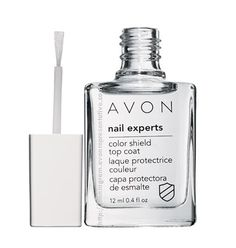 NAIL EXPERTS Color Shield Top Coat  981-578  Protect your mani! Long-wearing shiny top coat instantly creates a protective barrier to help shield nails. .4 fl. oz.