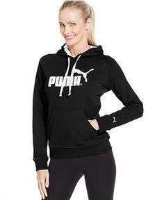 Puma Logo Hoodie Sweatshirt