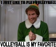 Volleyball is our favorite too!
