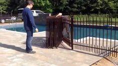 clôture piscine amovible | Clôture de piscine amovible 514-622-0010 - YouTube