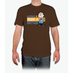 Happiness Is Being A Brother Snoopy - Men T-Shirt