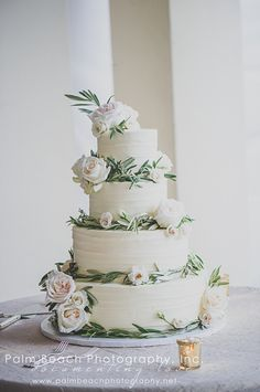 The perfect sweet addition by Sweeter Days Bake Shop at Sea Ranch Lakes Beach Club, photo by: Palm Beach Photography, Inc.