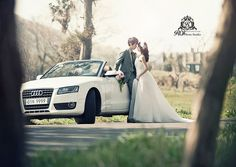outdoor pre wed photo shooting in Jeju island! Try this wonderful posture in front of Audi open car at Jeju island with roi studio! roistudio.co.kr #roistudio #Koreawedding #photoshooting #Jejuwedding