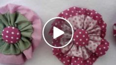 Ribbon Flowers to makensell for SOSAfrica childrenscharity another wonderfully quickneasy fundraisingidea Fabric Flower Pins, Fabric Flower Headbands, Fabric Flower Tutorial, Valentine Crafts For Kids, Homemade Valentines, Handmade Flowers, Diy Flowers, Sewing Crafts, Sewing Projects