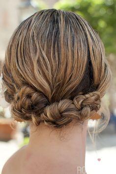 Hair Romance braided bun hairstyle