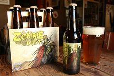 Cerveja Three Floyds Zombie Dust, estilo American Pale Ale, produzida por Three Floyds Brewing Company, Estados Unidos. 6.2% ABV de álcool.