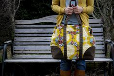Sew Liberated :: Carpet Bag