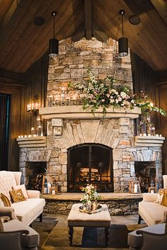 Brides: A Romantic Early Spring Wedding in the Hills of North Carolina