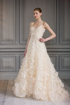 I know a bride who would look beautiful in this!