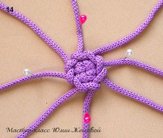 How to make macrame buttons