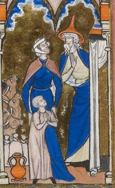 Titre :  Psautier dit de saint Louis.  Date d'édition :  1270-1274  Latin 10525  Folio 67v