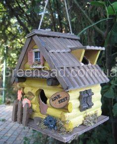 Скворечник «Любовное гнездышко» в садовом центре GREENSAD