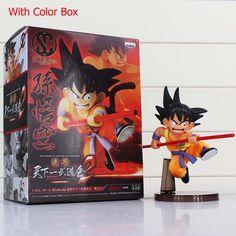 Dragon Ball Z Figures Toys 16cm Sun Goku Childhood Edition PVC Action Figures Doll PVC Model Toys