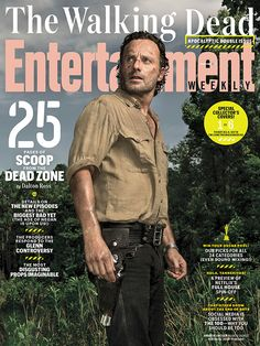 Exclusive! Here's your first look at what's to come on season 6 of #TheWalkingDead, including the most EPIC season finale yet. Photo credit: Dan Winters for EW.