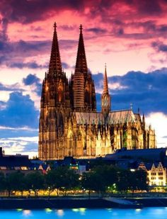 Gothic cathedral, Cologne, Germany