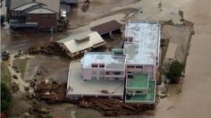 Typhoon Lionrock in Japan left 9 dead in a care home due to the flood it caused. /