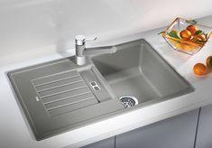 Dřez Blanco Zia 45 S aluminium 514725 Horn, Sink, Design, Home Decor, White People, Sink Tops, Vessel Sink, Decoration Home, Room Decor