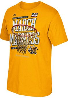 Wichita State Shockers March Madness Bound Short Sleeve Tee http://www.rallyhouse.com/shop/-14853617?utm_source=pinterest&utm_medium=social&utm_campaign=Pinterest-WSUShockers $24.00