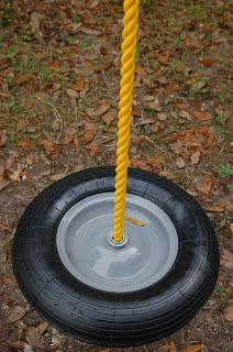 TIP – How to Build a Cheap Tire Swing