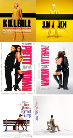 Movie Posters from the Back