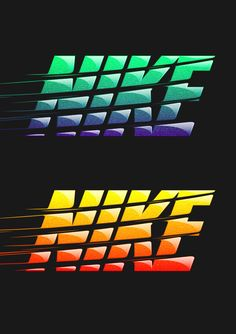 "I really like this design for a NIKE t-shirt created by Studio in London. I thought it was really cool how they created the ""swoosh"" motion effect to the type with added texture effects. Nike T-Shirt Designs 2014 on Behance Nike Design, Design Art, Wacom Intuos 5, Camisa Nike, Valhalla, Nike Wallpaper Iphone, Nike World, Sneaker Art, Creative Typography"